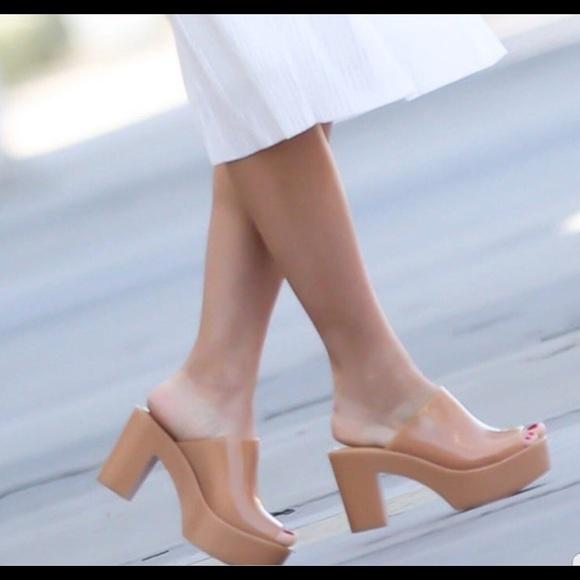 melissa mule open toe sandals